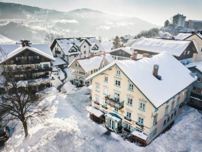 Hotel Adler im Winter