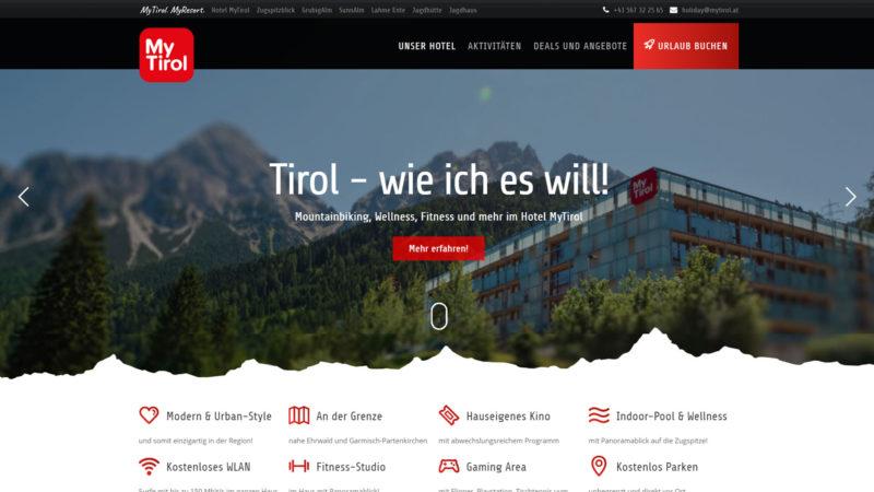 MyTirol Website