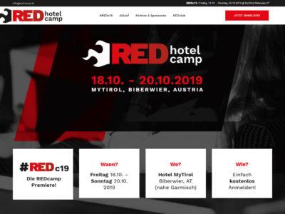 REDcamp Website Header